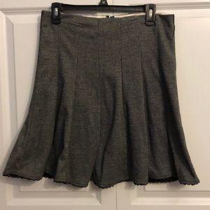 Dresses & Skirts - Grey pleated skater skirt